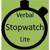Verbal Stopwatch Lite icon