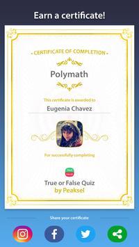 True or False Quiz screenshot 4