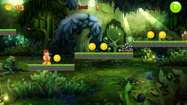 Flinstone Adventurer jungle screenshot 4