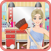 Cleaning Game - Model Salon icon