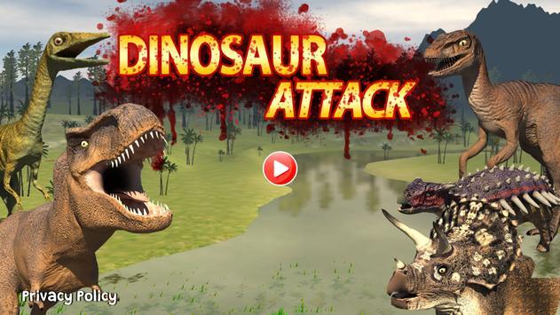 Dinosaur Game - Tyrannosaurus poster