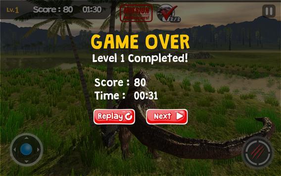 Dinosaur Game - Tyrannosaurus apk screenshot
