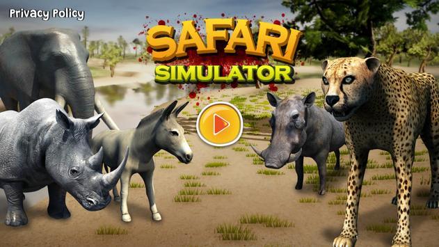 Cheetah Game 3D - Safari Animal Simulator poster