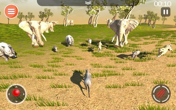 Cheetah Game 3D - Safari Animal Simulator screenshot 15