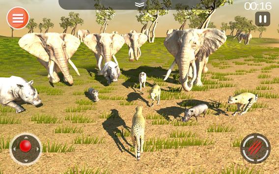 Cheetah Game 3D - Safari Animal Simulator screenshot 18