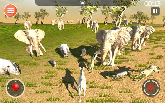Cheetah Game 3D - Safari Animal Simulator screenshot 12