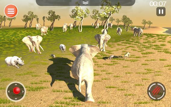 Cheetah Game 3D - Safari Animal Simulator screenshot 13