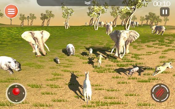 Cheetah Game 3D - Safari Animal Simulator screenshot 20