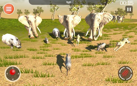 Cheetah Game 3D - Safari Animal Simulator screenshot 23
