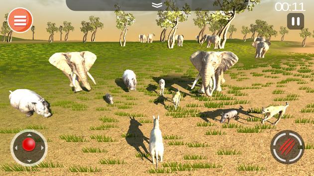 Cheetah Game 3D - Safari Animal Simulator screenshot 4