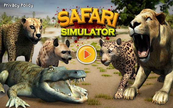 Safari Predator Game 3D - Animal Simulator screenshot 16
