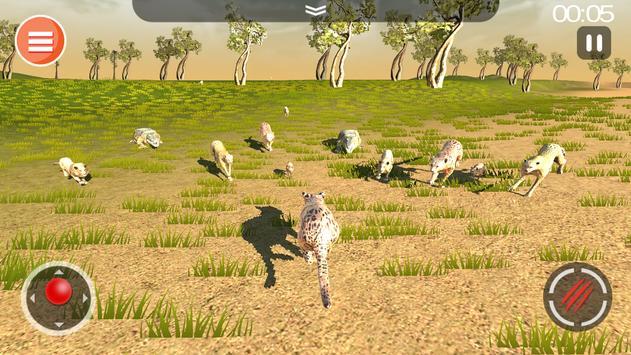 Safari Predator Game 3D - Animal Simulator screenshot 6