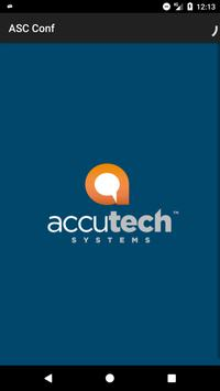 AccuTech Systems Conferences poster