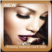 Evening Makeup Dark Skin icon