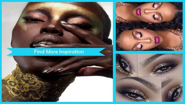 Evening Makeup Dark Skin screenshot 1