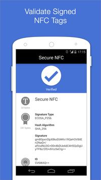 Secure NFC poster