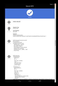 Secure NFC apk screenshot