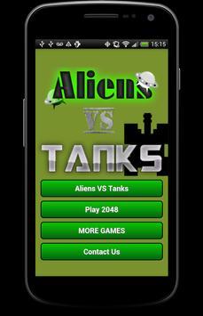 Aliens VS Tanks poster