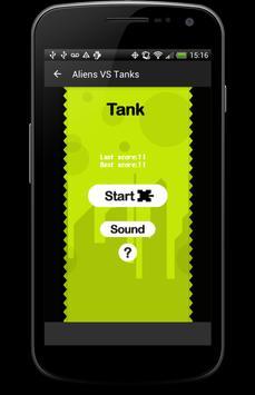 Aliens VS Tanks screenshot 1