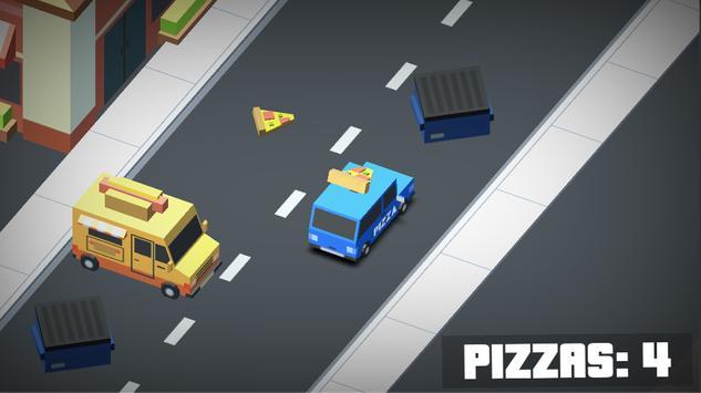 Pizza Driver Extreme - Arcade apk screenshot