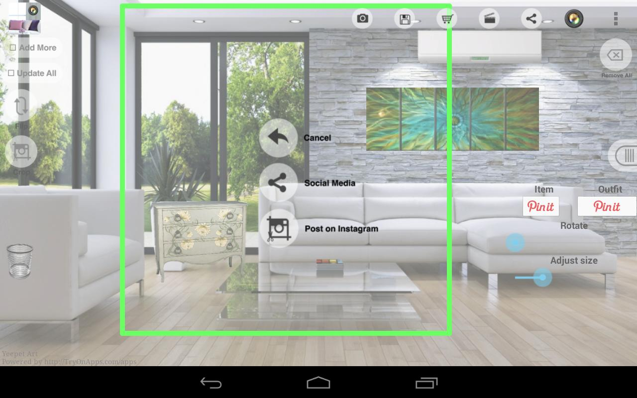 Virtual home decor design tool for android apk download - Virtual room designer app ...