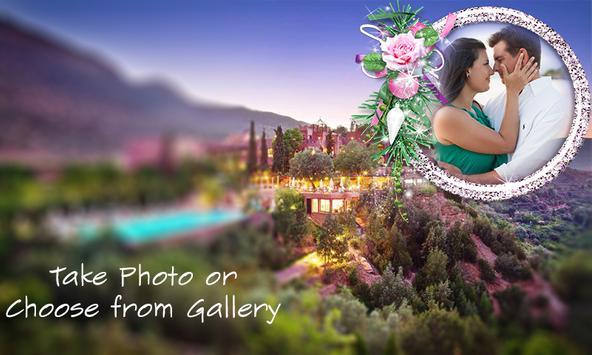 Honeymoon Photo Frame poster