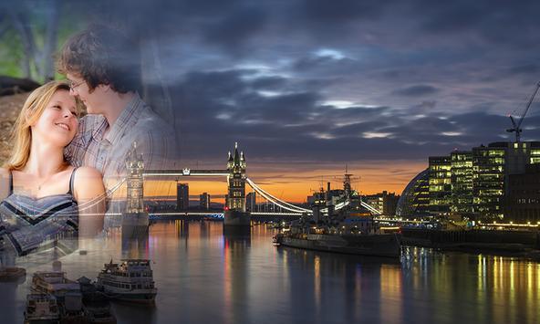 London Night Photo Frame screenshot 3