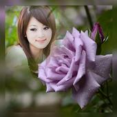 Romantic Rose Photo Frames icon