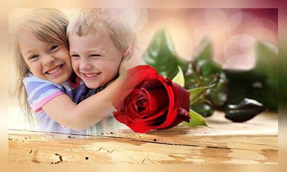 Romantic Rose Photo Frames apk screenshot