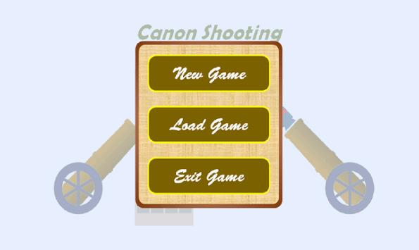 Cannon Shooting poster