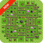 Maps for clash of clans bases icon