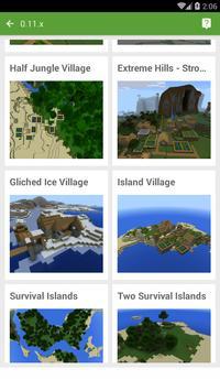 Seed for Minecraft PE Pro screenshot 1