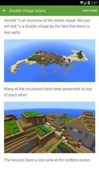 Seed for Minecraft PE Pro screenshot 4