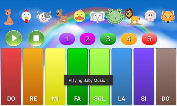 Baby Piano 2 screenshot 1