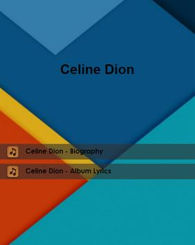 Celine Dion Lyrics poster
