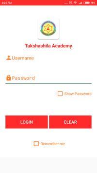 Takshashila Academy apk screenshot