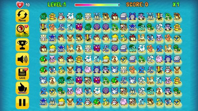 Pikachu classic 2003 : Puzzle game free screenshot 8