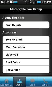 Motorcycle Law Group screenshot 3
