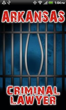 Arkansas Criminal Lawyer poster