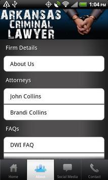 Arkansas Criminal Lawyer apk screenshot