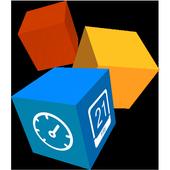 TSF CubeClock Widget icon
