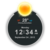 TSF Clock Widget icon