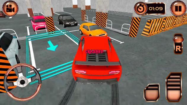 Drive Multi-Level: Classic Real Car Parking 🚙 screenshot 1