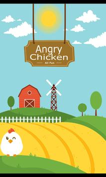 ANGRY CHICKEN poster