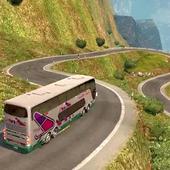 Luxury Tourist City Bus Driver icon