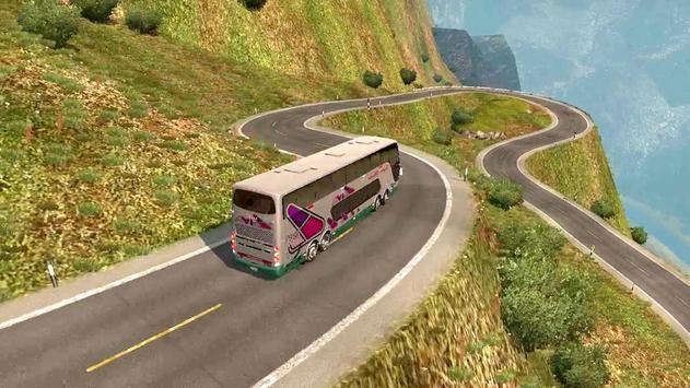 Luxury Tourist City Bus Driver 🚌 poster