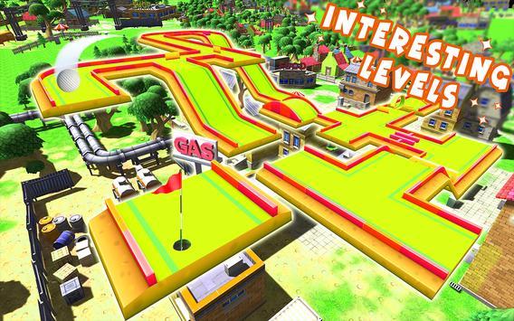 Mini Golf Club Stars 3D: City Crazy Miniature King screenshot 14