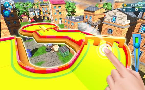 Mini Golf Club Stars 3D: City Crazy Miniature King screenshot 2