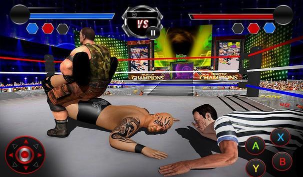 Wrestling Stars Revolution: Cage Free Death Match screenshot 10