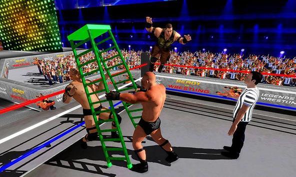 Wrestling Stars Revolution: Cage Free Death Match screenshot 3